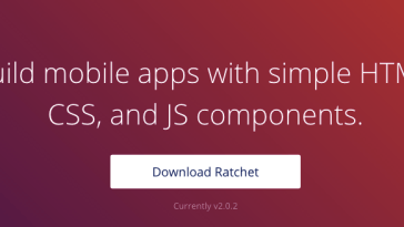 Ratchet wants you to build mobile apps with simple HTML, CSS, and JS components