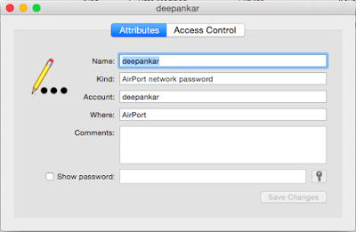 How to find a Wi-Fi network password on Mac
