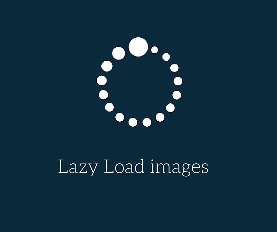 How to lazy load images with jQuery