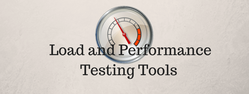 load and performance testing tools