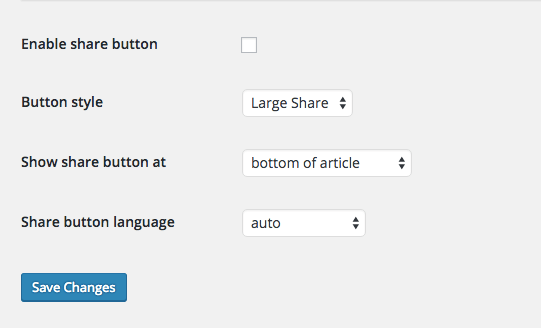 Skype share button with plugin