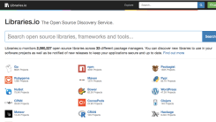 Libraries.io Is The Open Source Search Engine For Developers