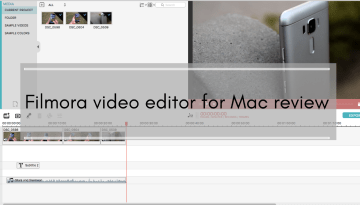 Filmora Video Editor for Mac Review : A good video editor for beginners