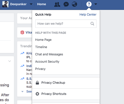 Facebook Privacy testing tool