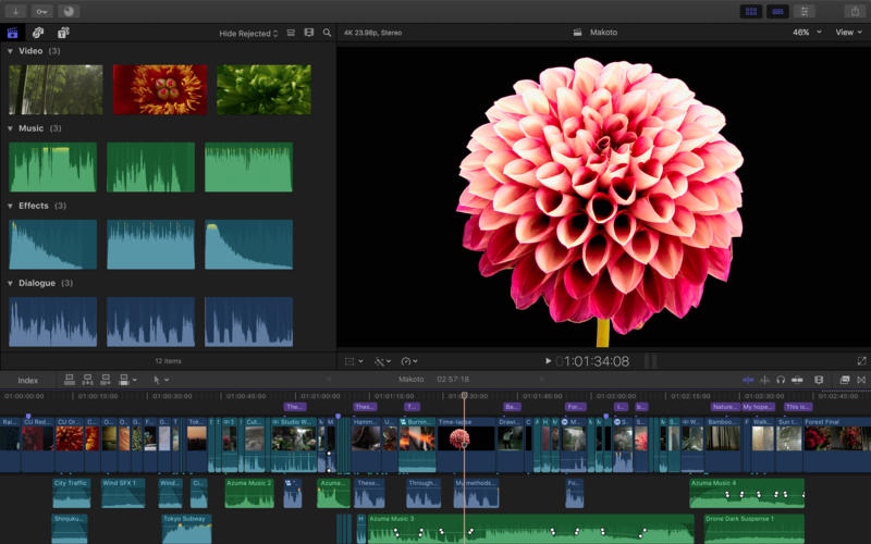 Final Cut Pro Video editing tool