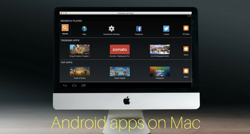How to run Android Apps on Mac