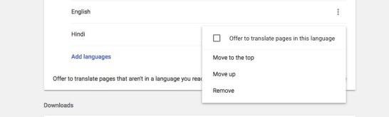 change Google Chrome Language