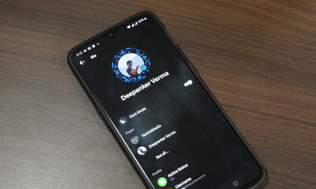 activate messenger dark mode