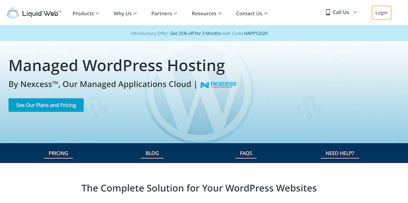 Liquid Web Managed WordPres Hosting