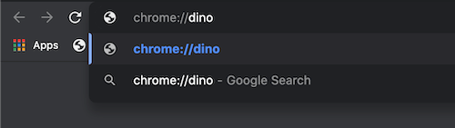 Access the Dinosaur Game anytime you want
