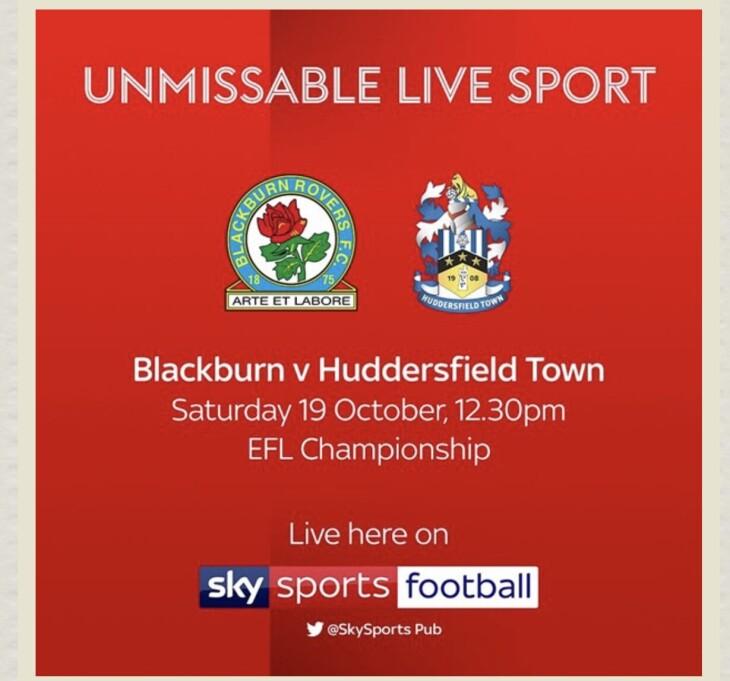 Blackburn v Huddersfield town | The Sun. Lepton