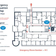 Emergency Plan Diagram Tableau Venn How To Create A Simple Building Evacuation