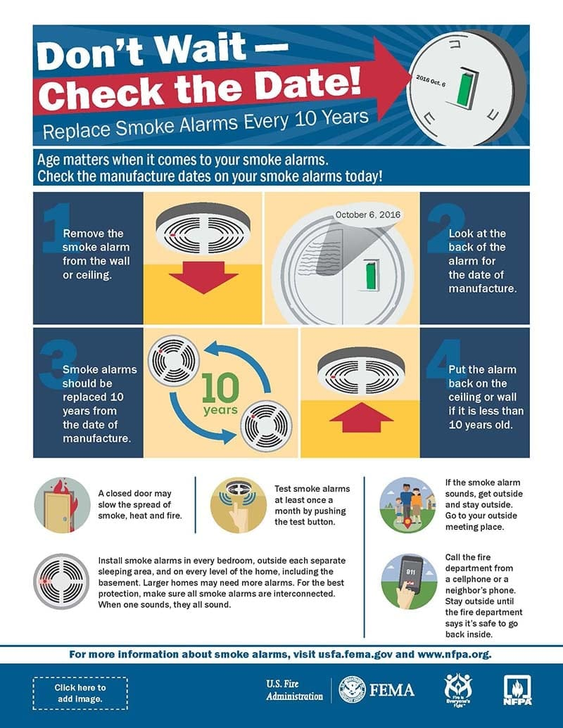 hight resolution of check the date smoke alarm infographic