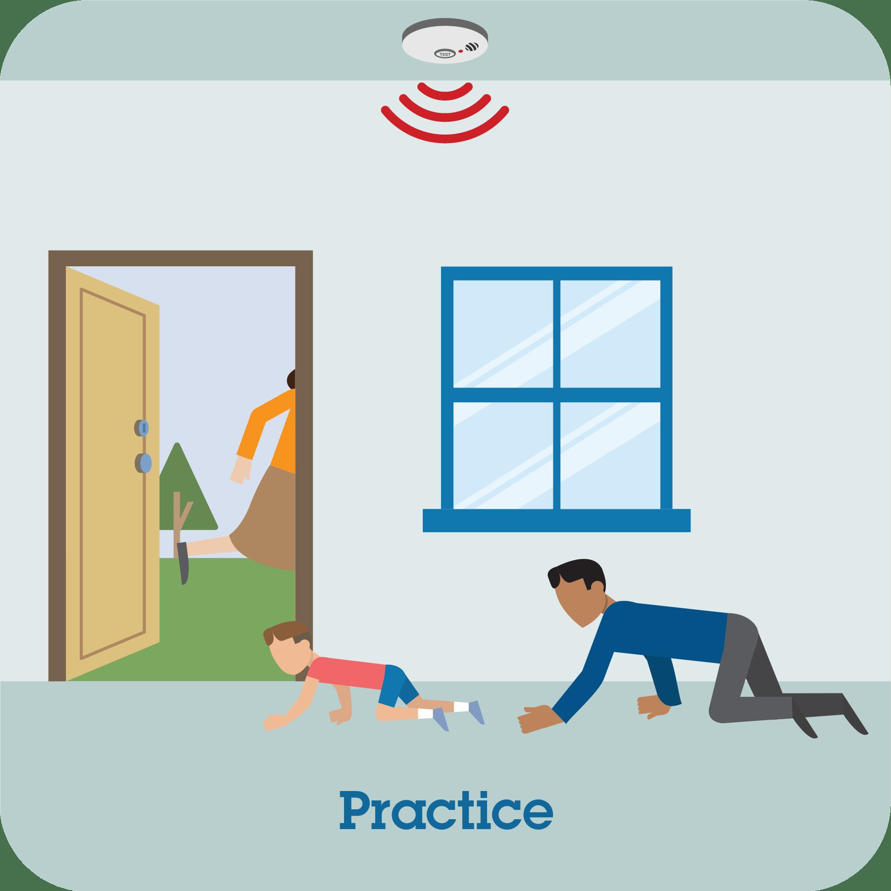 Pictograph Practice Your Home Fire Escape Plan