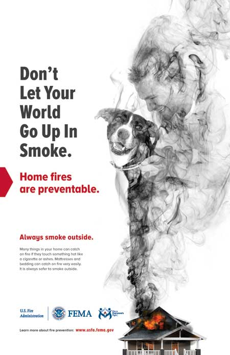 Smoking Fire Safety Outreach Materials