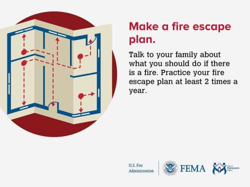 small resolution of have a fire escape plan