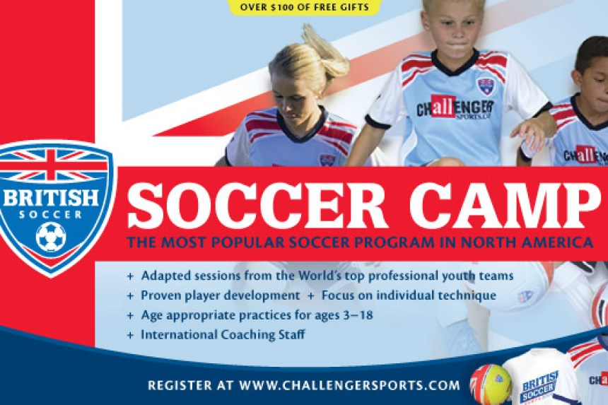Challenger Sports British Soccer Camps // Money Savvy Living