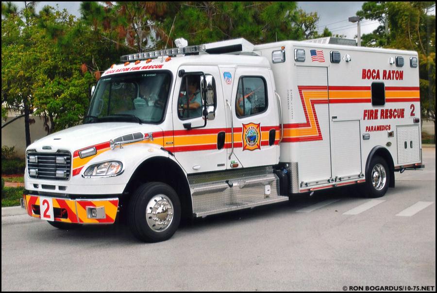 FL Boca Raton Fire Department EMS