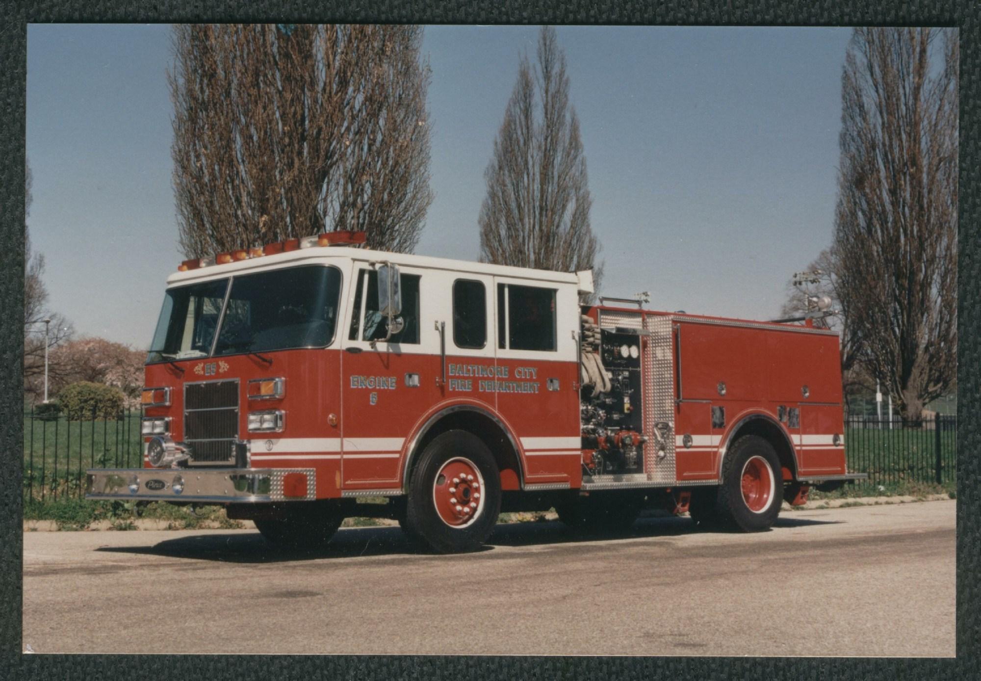 hight resolution of engine 5 1993 pierce saber pumper