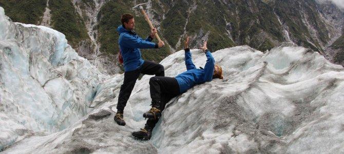 Koldt og varmt i Franz Josef