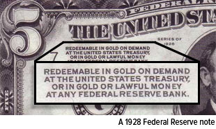 a 1928 Federal Reserve Note