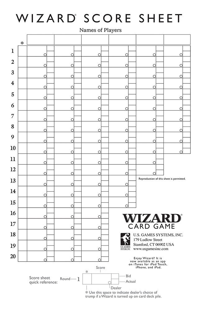 U.S. Games Systems, Inc. > Cards & Games > Wizard