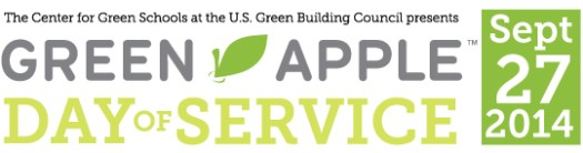 Green Apple Day of Service 2014 Banner