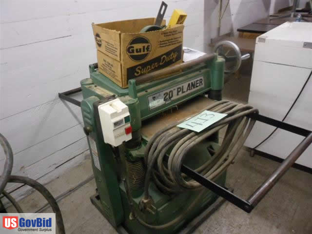 Grizzly G1033 Planer For Sale