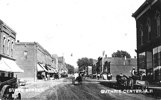 Guthrie County IA Penny Postcards