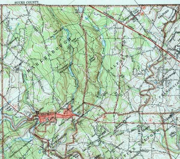 Montgomery County Pennsylvania Township Maps