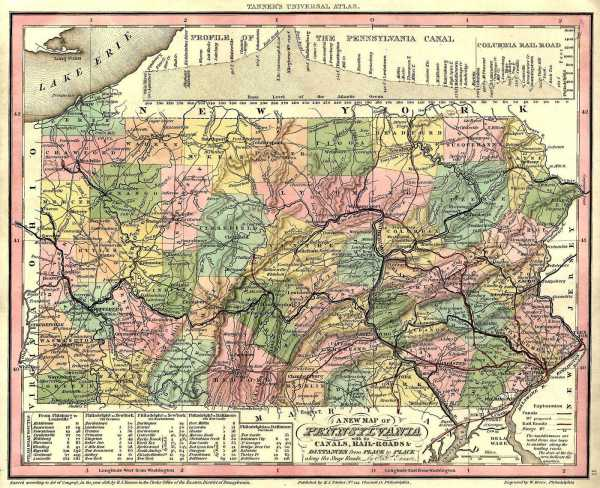 Pennsylvania County USGS Maps