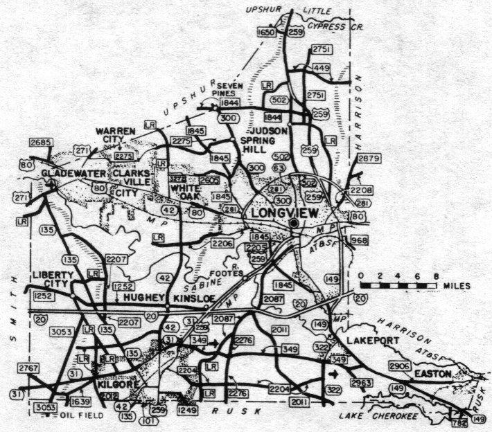 Gregg County, Texas: Genealogy, Census, Vital Records