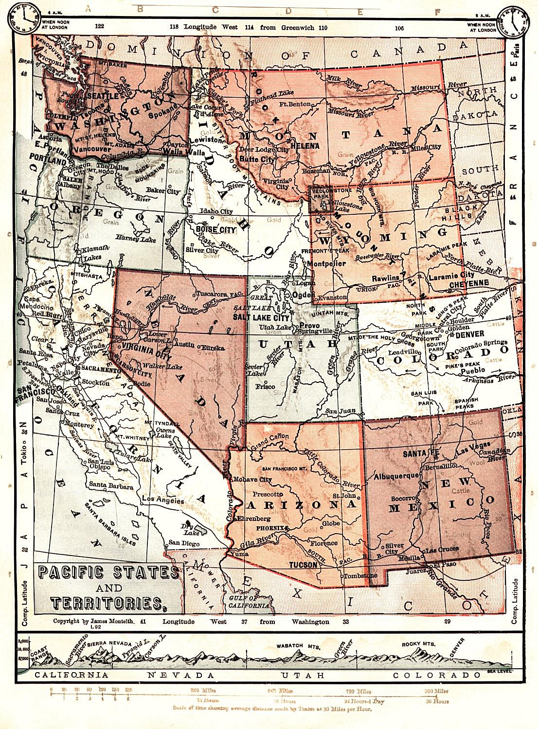 Wyoming Maps Wyoming Digital Map Library Table Of