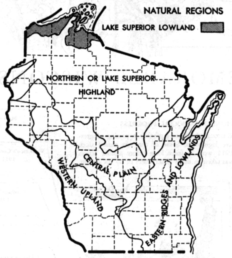 Wisconsin Maps Wisconsin Digital Map Library Table Of