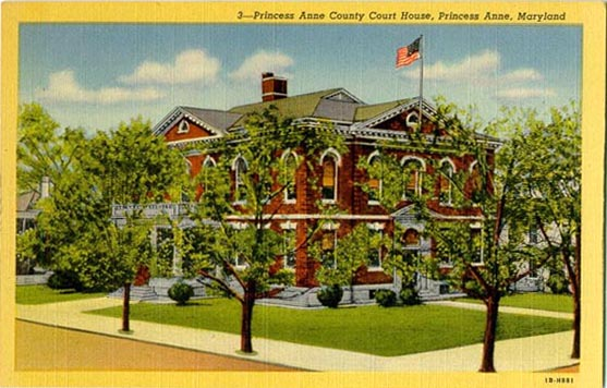 Penny Postcards from Somerset County Maryland