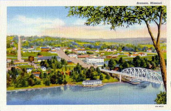 Penny Postcards from Taney County Missouri
