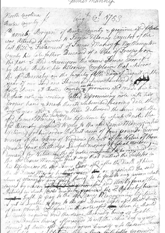 North Carolina USGenWeb Archives Records