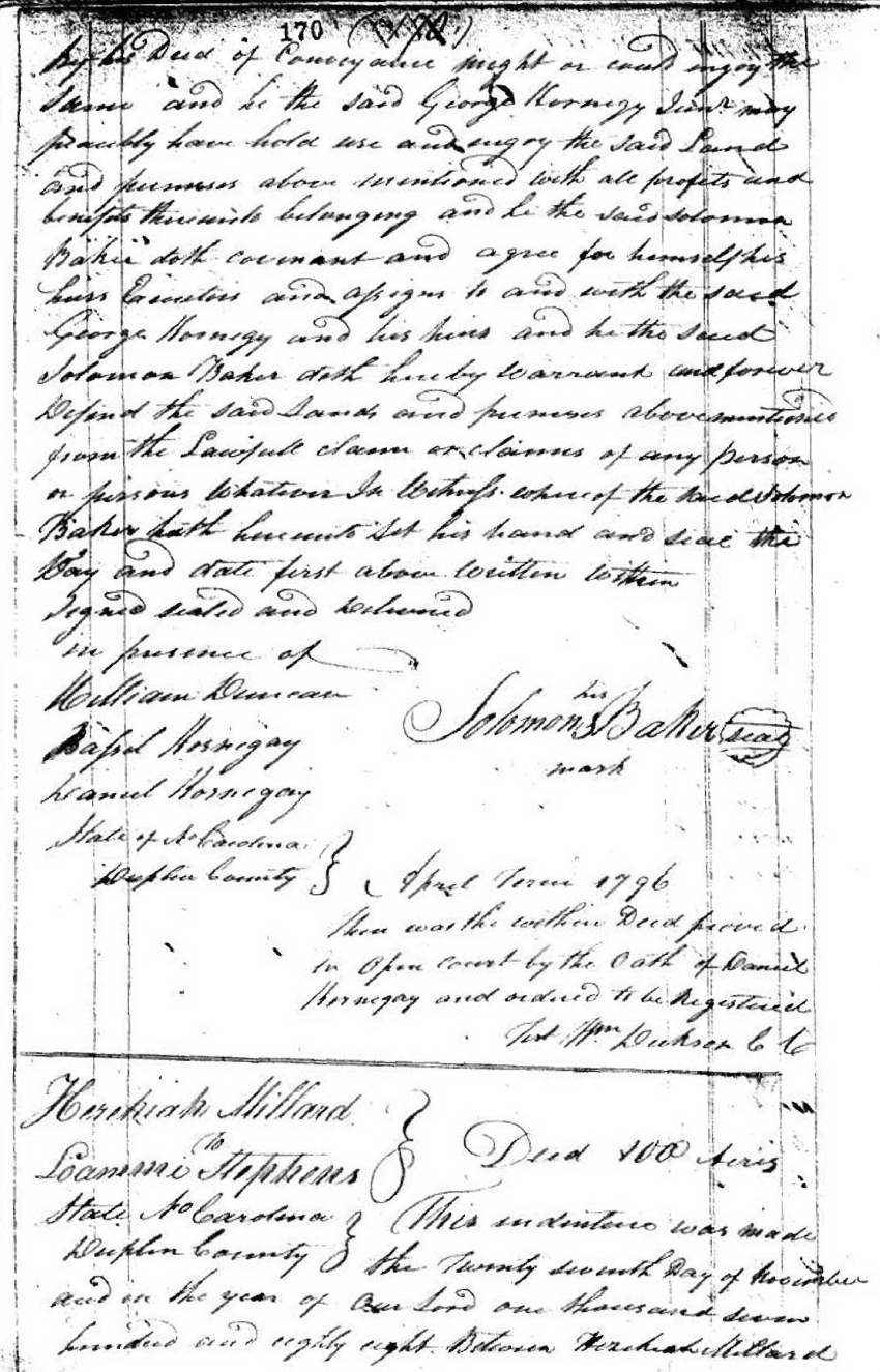 Duplin County, NC Archives