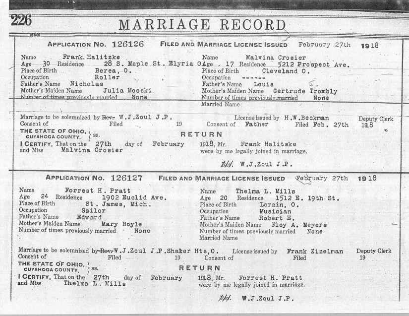 USGenWeb Archives: Cuyahoga County, Ohio