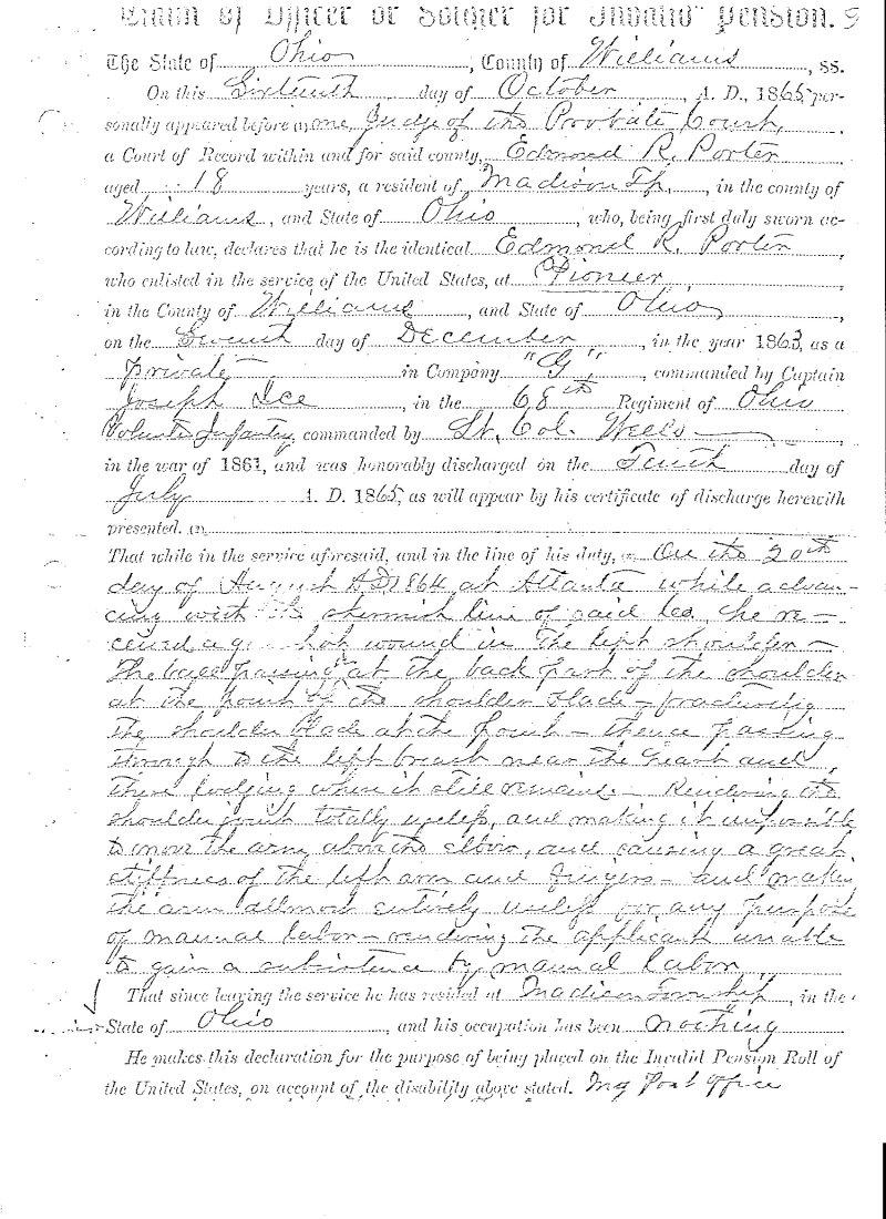 USGenWeb Archives: Williams County, Ohio