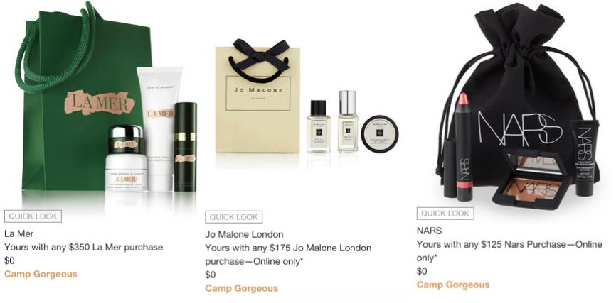 Neiman Marcus: Free 7 pcs gift + tote bag w/$100 purchase   Gift ...