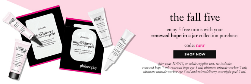 Philosophy gift with purchase - free 24oz purity with any $45 ...