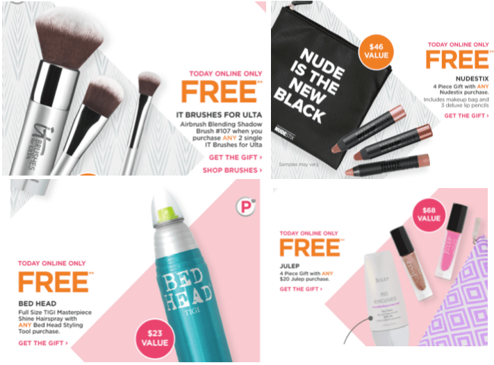 Many Ulta Platinum Perks - today only! | Gift With Purchase