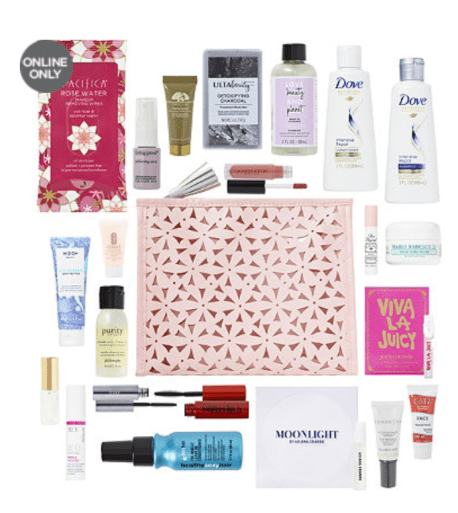 5aa0a020137e Ulta.com  FREE 22 Pc Beauty Bag with any  75 online purchase - Gift ...