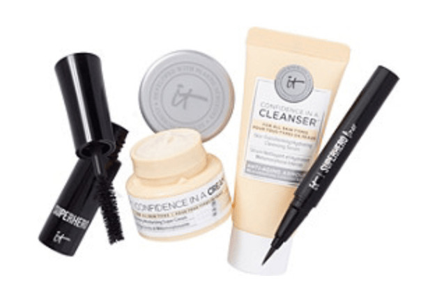 Beauty Break FREE 4 Pc IT Cosmetics Gift with any 50 online purchase