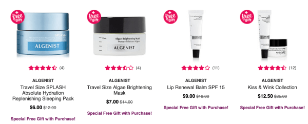 2399c528bdb Get 2 deluxe samples with any Algenist purchase. Select Algenist are 50%  off.