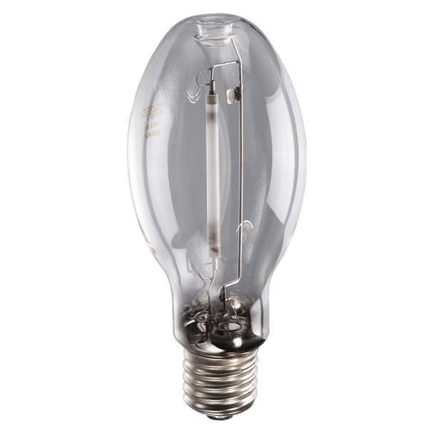 250 Watt High Pressure Sodium Light Bulb Mogul Base E39 ED18 LU250 Clear