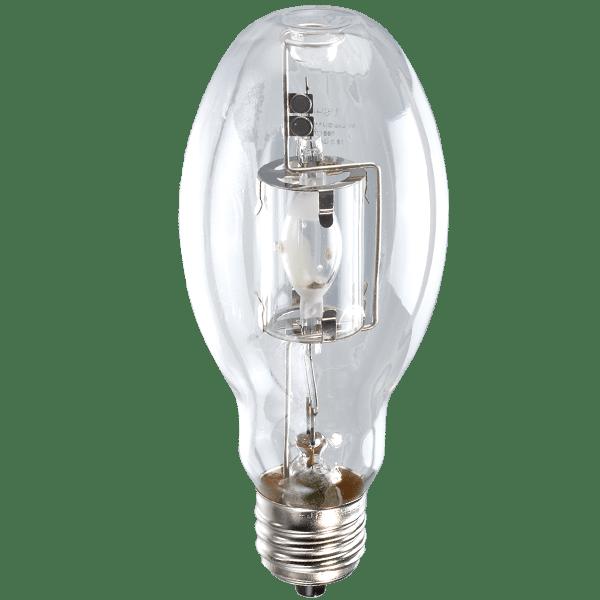 Pack of 4 Clear Medium Base MH100//U//MED 100-Watt Metal Halide ED17 Bulb