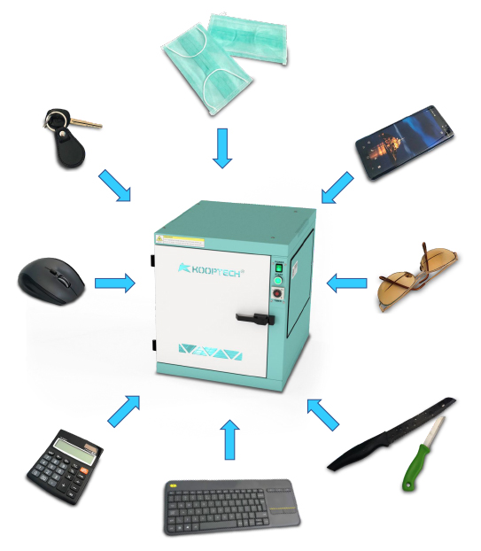 Kooptech UV-C Box Applications