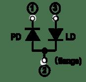 HL65241DG Internal Circuit